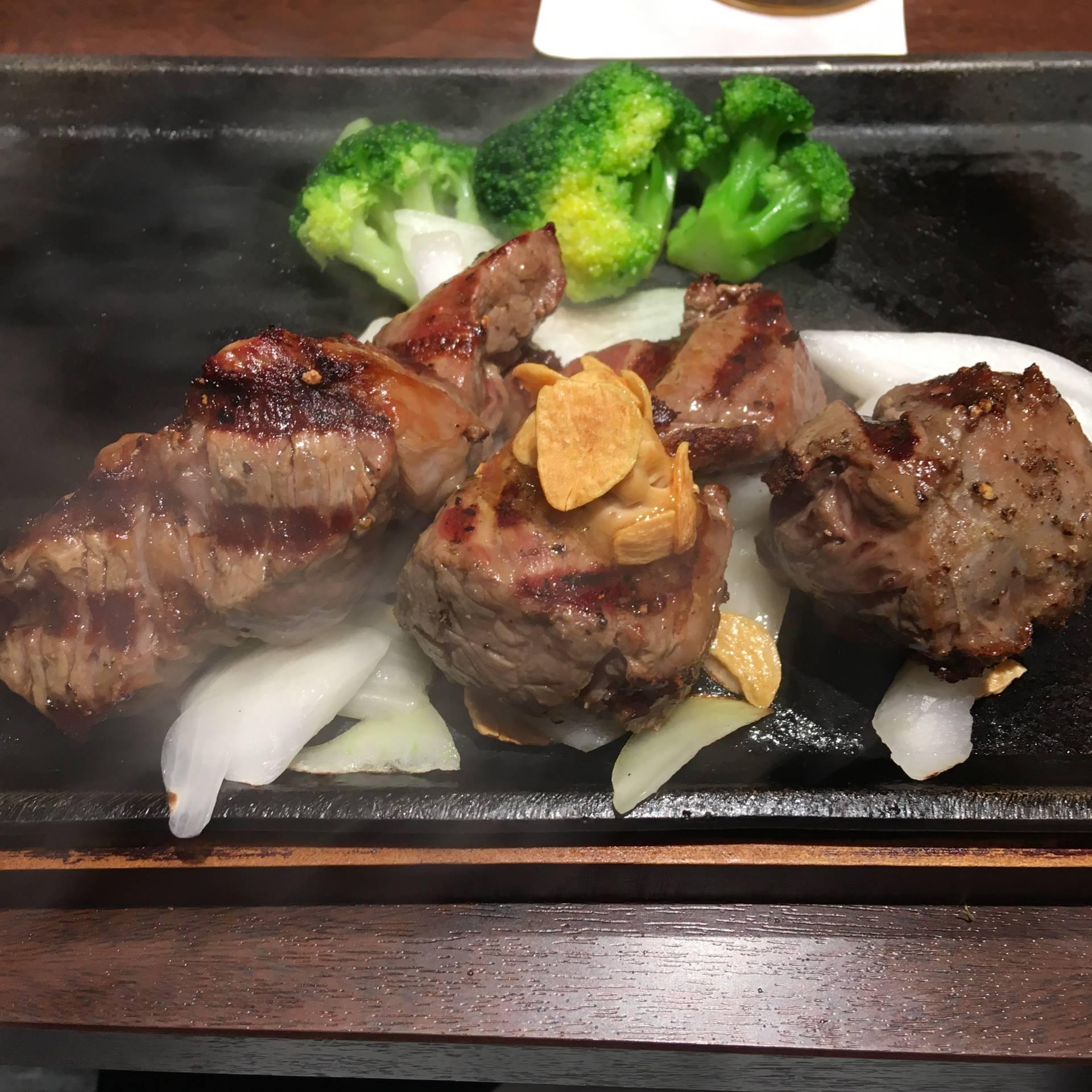 いきなり!ステーキ浅草駅前店乱切りカットステーキ2018年08月09日