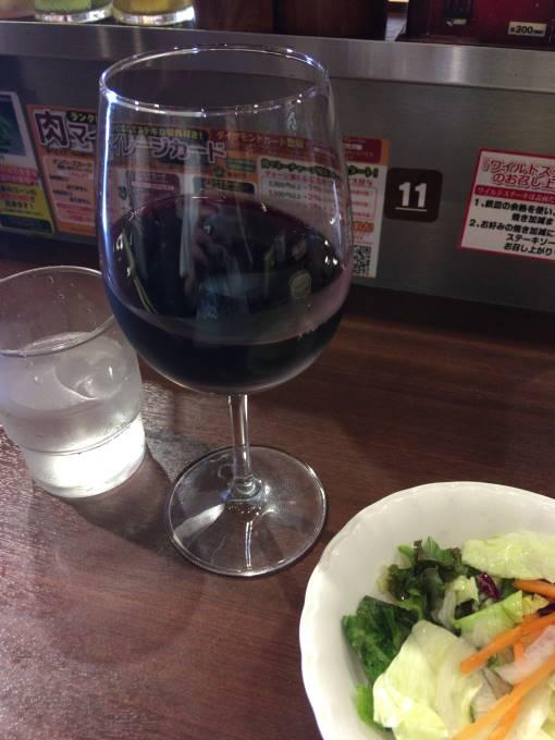 プラチナ肉マイレージで無料のワイン