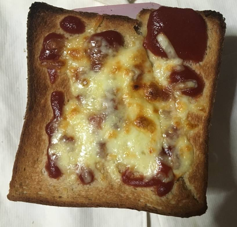 ブラン入り食パン|ローソン|糖質制限食のピザトースト