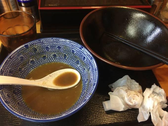 中川會 頂 8月木曜日限定の超濃厚つけ麺