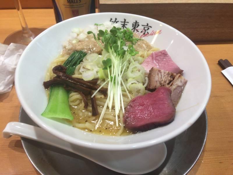 竹末東京Premium「鶏ホタテそば」900円