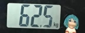 2018年10月13日の体重