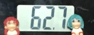 2018年10月15日の体重