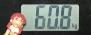 2018年10月20日の体重