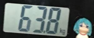2018年10月25日の体重