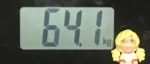 2018年10月29日の体重