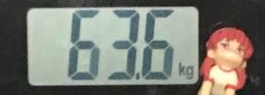 2018年11月01日の体重