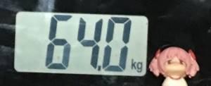 2018年11月05日の体重