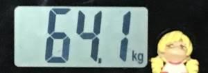 2018年11月06日の体重