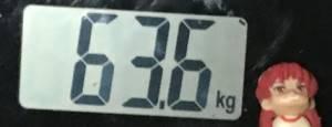 2018年11月09日の体重