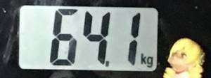 2018年11月10日の体重