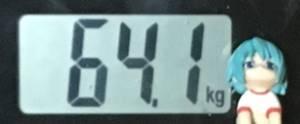 2018年11月12日の体重