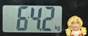 2018年11月13日の体重
