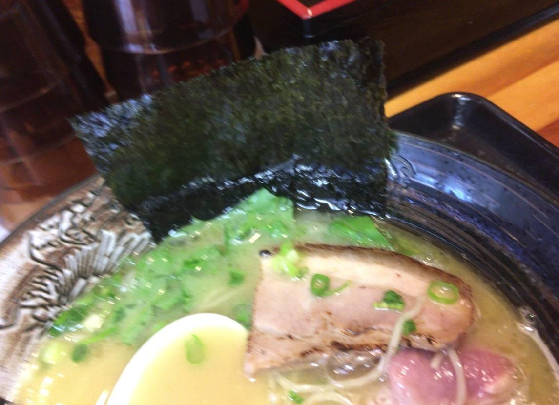 塩鶏白湯800円 中川會 頂(木曜日営業:麺屋太陽)の月替わりのメニュー