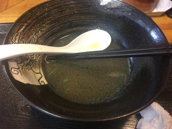 木曜日営業麺屋太陽 月替わり限定の「鴨そば」