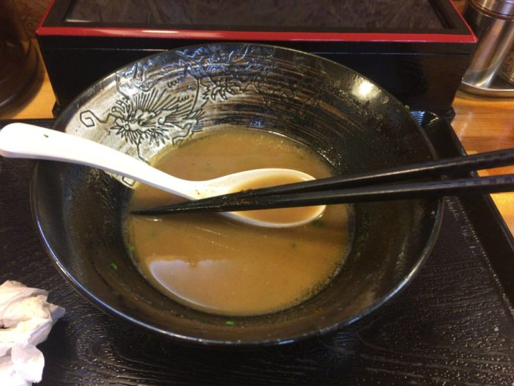 麺屋 頂 中川會の丼
