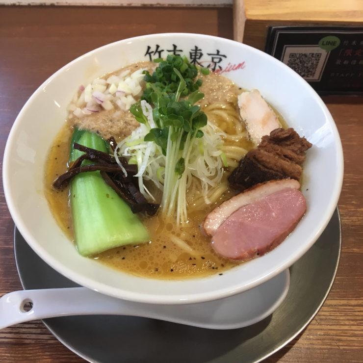 鶏ホタテそば|竹末東京プレミアム 2018年12月19日