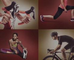 スポーツでトレーニングしている人達の写真