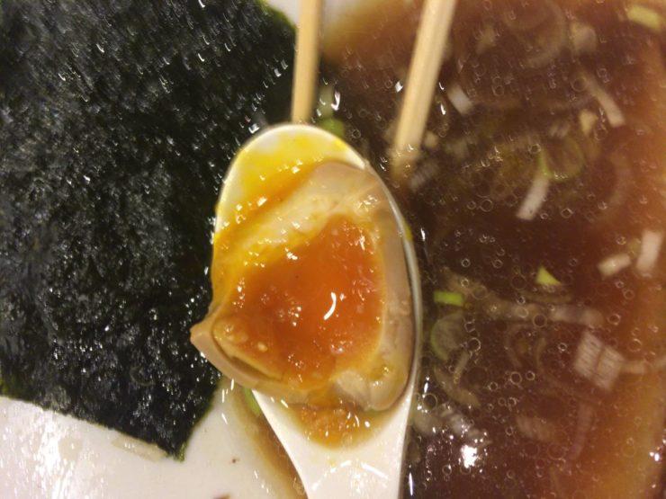 すずめ食堂の味玉中身