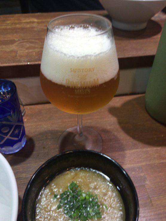 竹末東京プレミアムのビール
