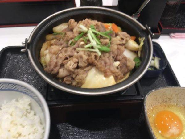 牛すき鍋膳 並盛