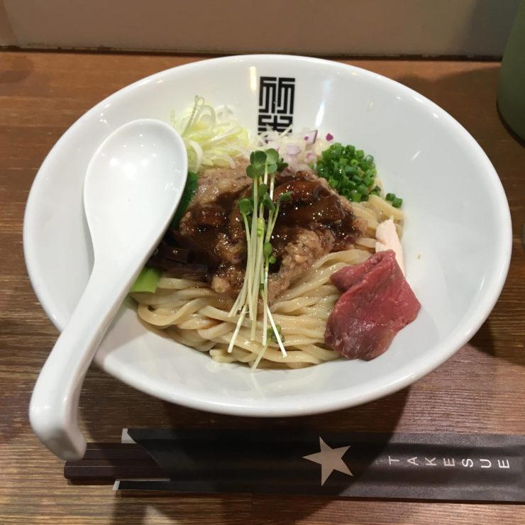 サンマとイカのまぜそば900円|竹末東京Premium