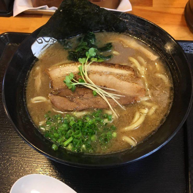 麺屋 頂 中川會曳舟店 濃厚魚介鶏らーめん800円 2019年01月2回目
