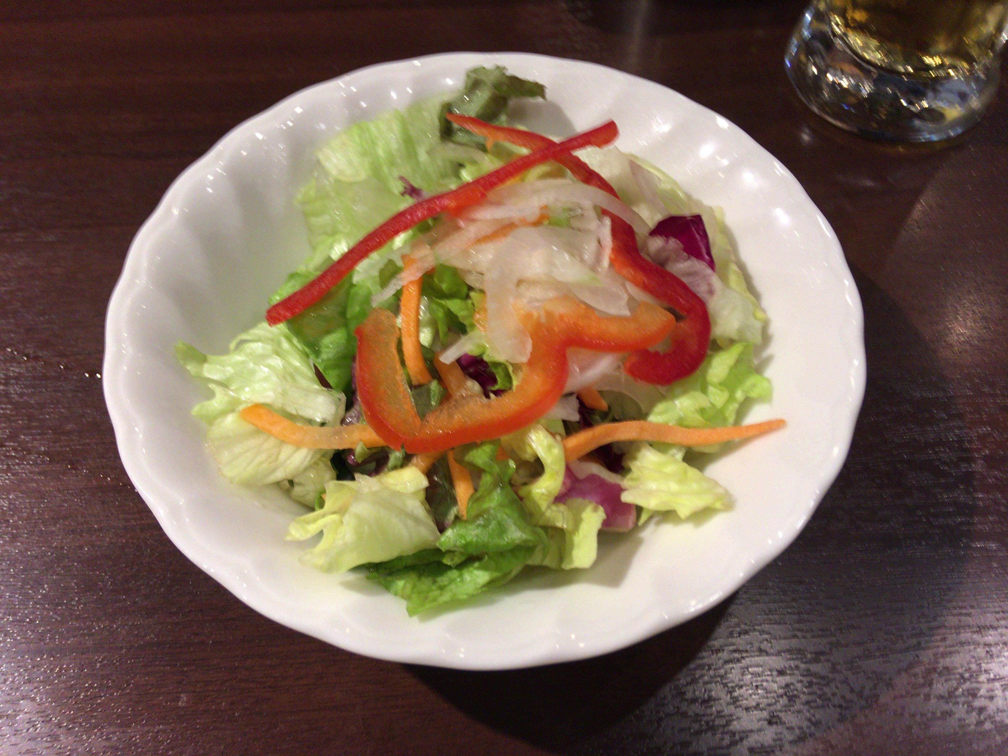 スモールサラダ(レタス)