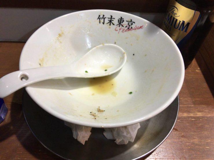 鶏ホタテそば900円|竹末東京Premium