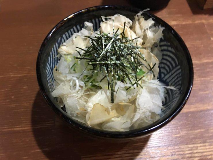 竹末東京Premiumのプレミアムライス 380円