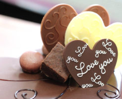ハート形のチョコレート