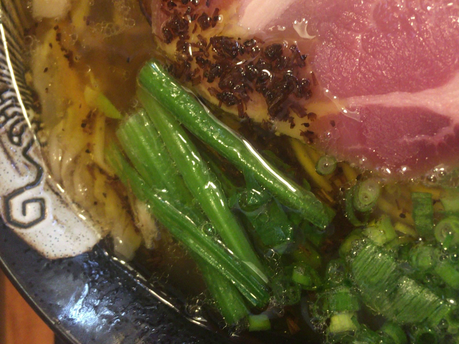 :麺屋太陽 貝だし鶏ダシ中華そばの具