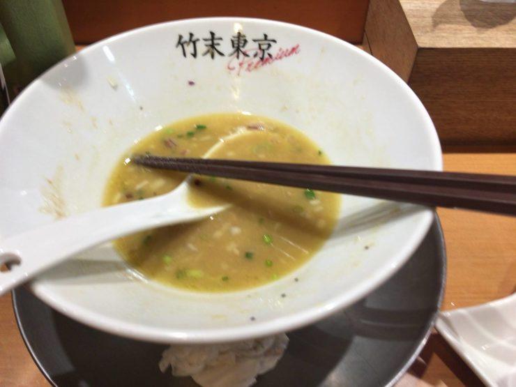 竹末東京プレミアムの鶏ホタテそば