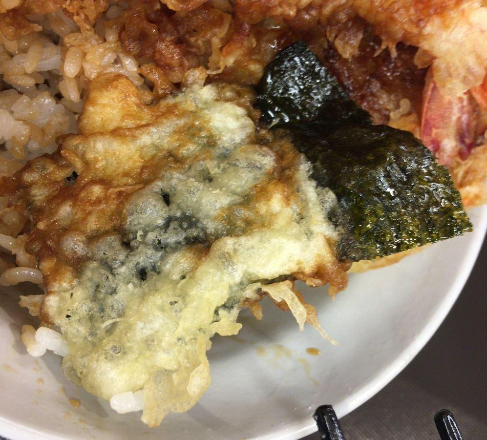 海苔の天ぷら:えびえび桜海老天丼 | 天丼てんや