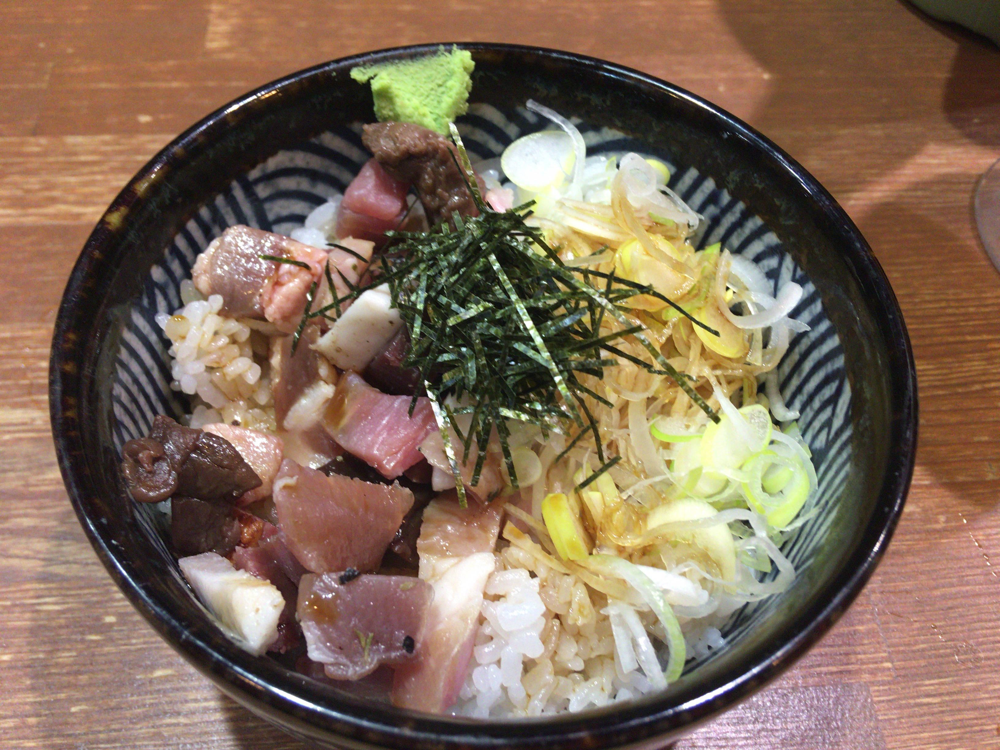 竹末東京プレミアムの肉玉丼(玉子抜き)
