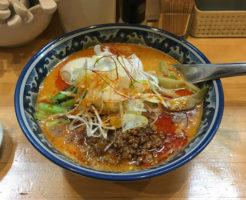 四川担々麺900円 ラーメンソレナリ
