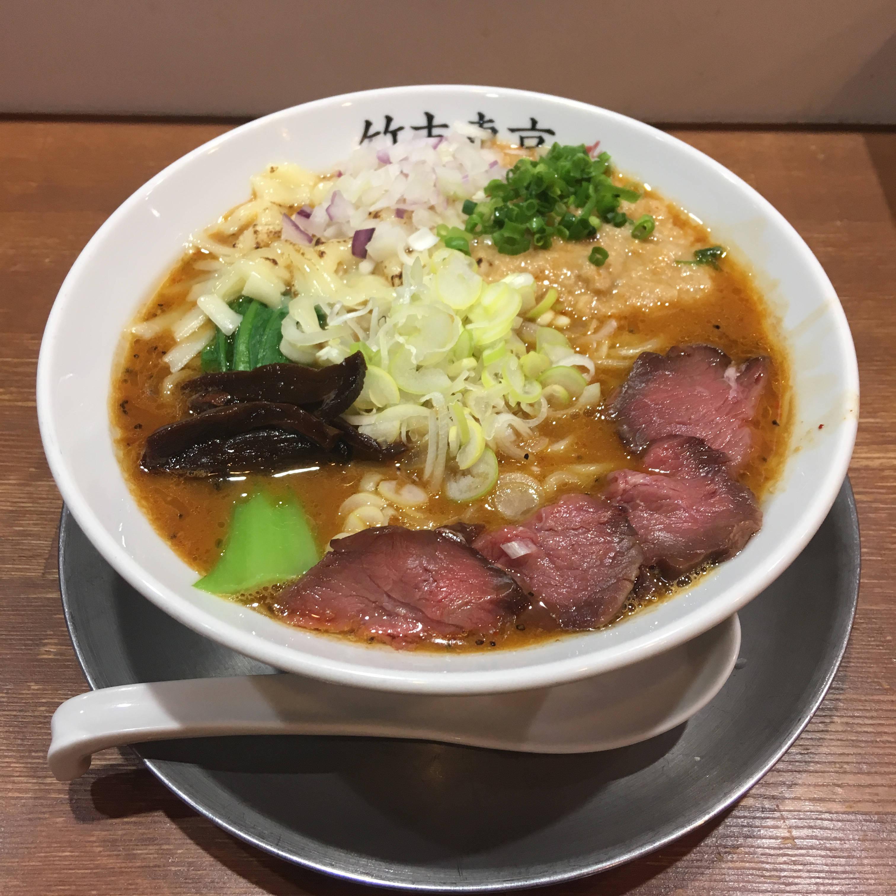 スープ切れと言われた日の竹末東京プレミアムのラーメン