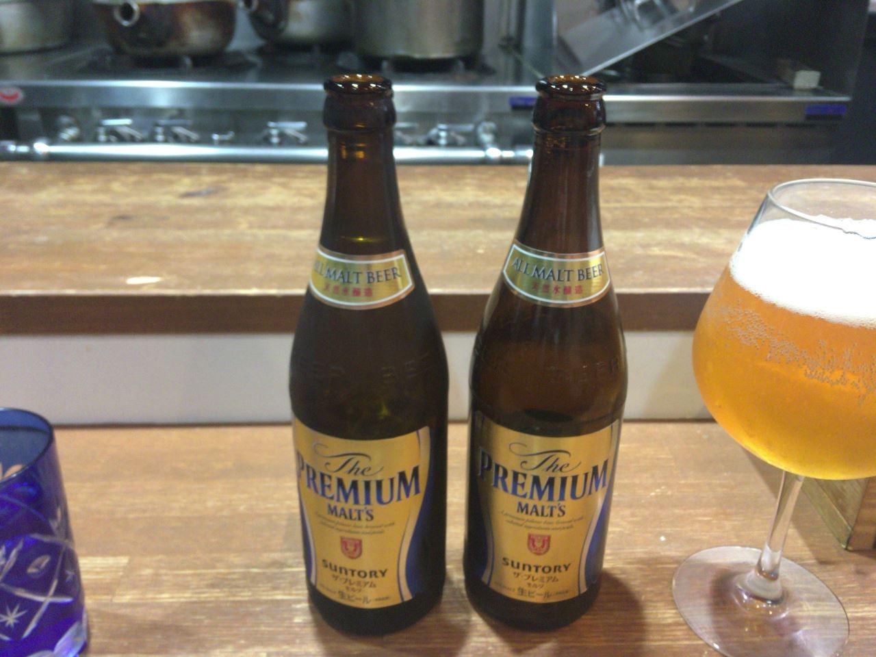 ビール2個目