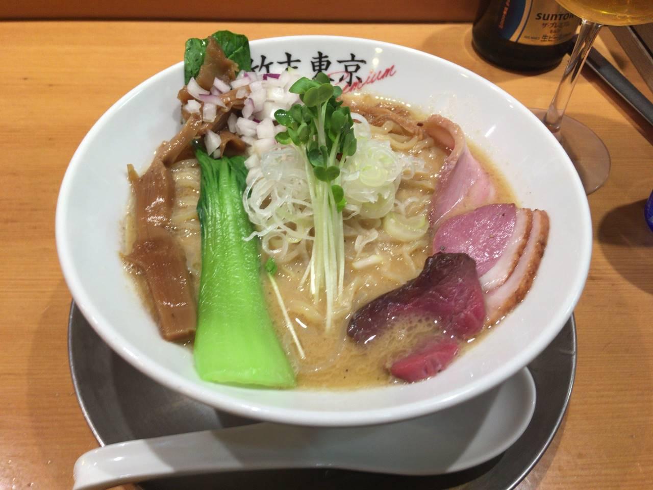 ヤシオマスの塩そば|竹末東京プレミアム