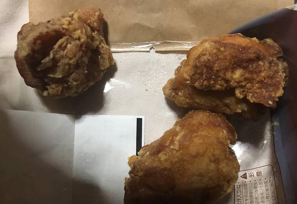 ローソンの鶏から醤油