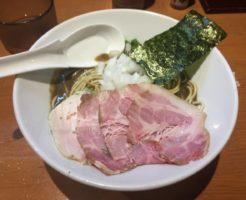 濃厚蕎麦880円:亀戸煮干中華蕎麦つきひ