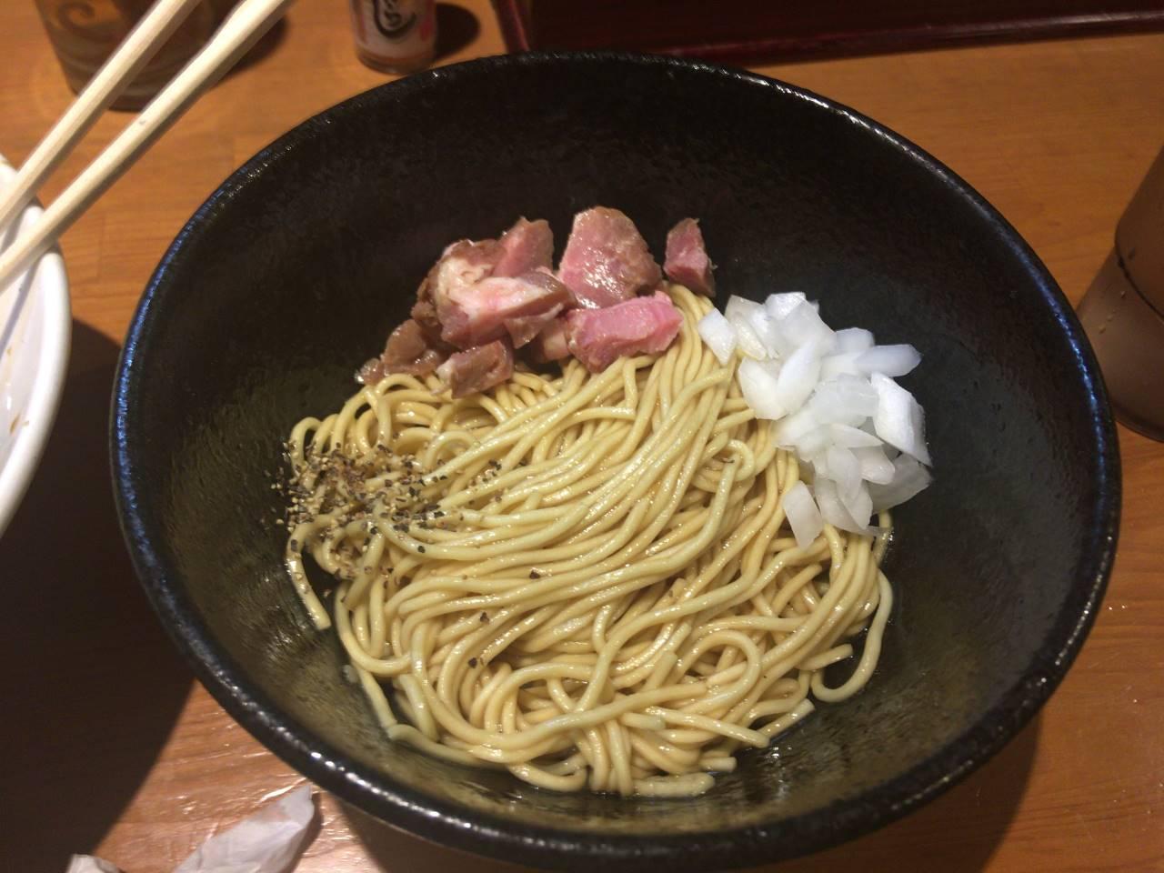 和え玉:亀戸煮干中華蕎麦つきひ