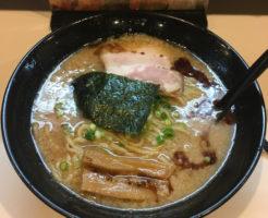 京成曳舟駅近くラーメン屋 麺屋鶏豚(トリトン)の醤油らーめん大盛