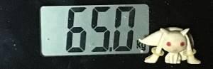 2019年06月12日の体重65.0kg