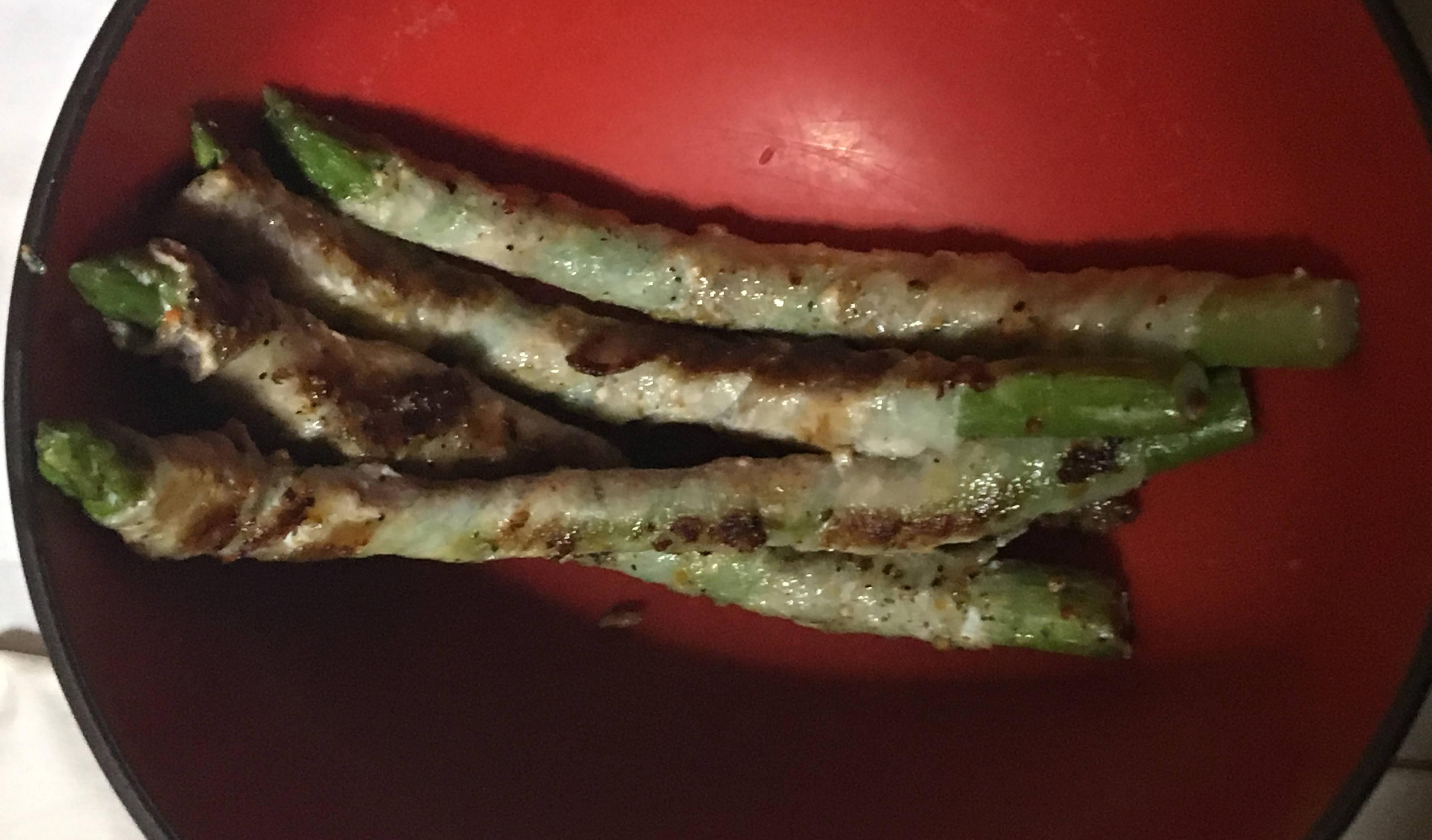 フライパンで加熱したもの:アスパラの豚巻(味付き)|まいばすけっと
