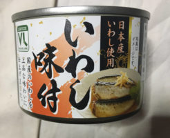 缶のデザイン:VL缶詰いわし味付|ローソンストア