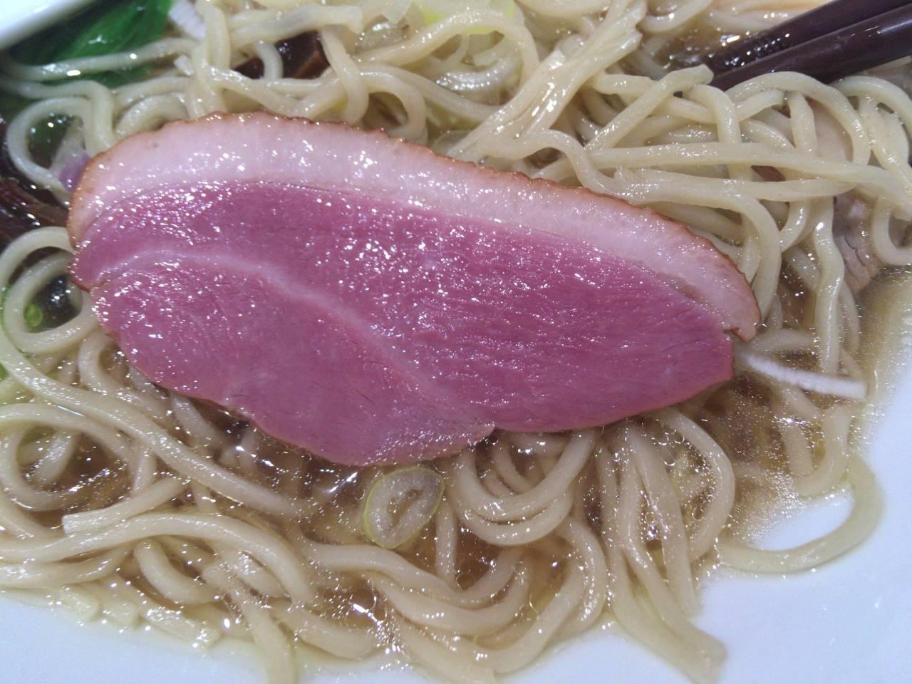 鴨肉:竹末東京Premium醤油そば