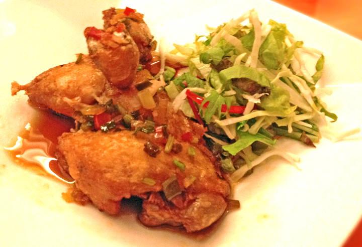 油林鶏・油淋鶏(ユー リン チー)写真3