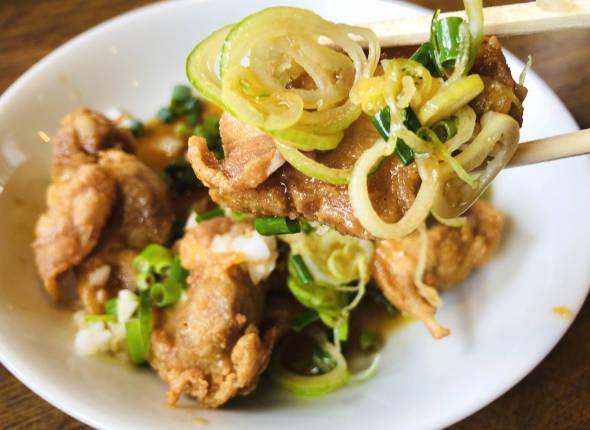 油林鶏・油淋鶏(ユー リン チー)写真2