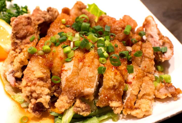 油林鶏・油淋鶏(ユー リン チー)写真4